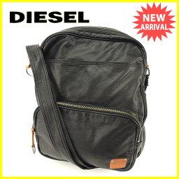 DIESEL【ディーゼル】 ショルダーバッグ /PUレザー メンズ