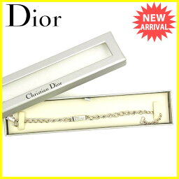 Christian Dior【クリスチャンディオール】 ブレスレット /シルバー レディース