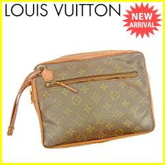 LOUIS VUITTON【ルイ・ヴィトン】 クラッチバッグ /ひび割れなど使用感があります。 レディース