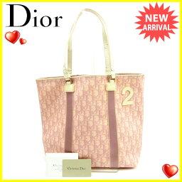 Christian Dior【クリスチャンディオール】 トートバッグ /PVC×エナメル レディース