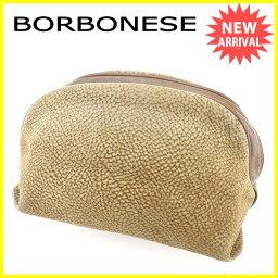 BORBONESE【ボルボネーゼ】 セカンドバッグ /スエードレザー レディース