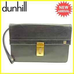 Dunhill【ダンヒル】 クラッチバッグ /レザー ユニセックス