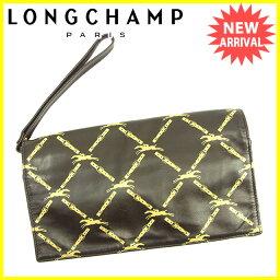 Longchamp【ロンシャン】 セカンドバッグ /レザー レディース