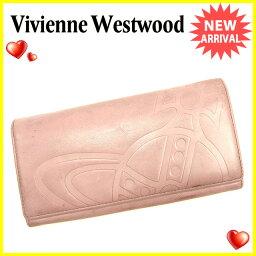 Vivienne Westwood【ヴィヴィアン・ウエストウッド】 長財布(小銭入れあり) /レザー レディース