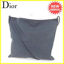 Dior【ディオール】 ショルダーバッグ /キャンバス レディース