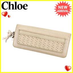 Chloe【クロエ】 長財布(小銭入れあり) /レザー ユニセックス