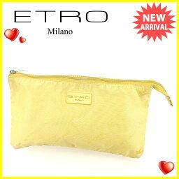 ETRO【エトロ】 セカンドバッグ /ナイロンキャンバス レディース