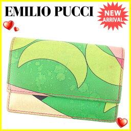 Emilio Pucci【エミリオ・プッチ】 カードケース /レザー ユニセックス