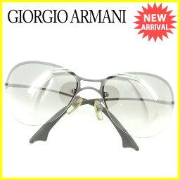 GIORGIO ARMANI【ジョルジオアルマーニ】 1533827/6l サングラス /プラスチック×シルバー金具×ラバー ユニセックス