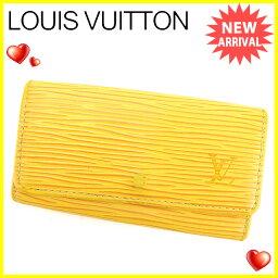 LOUIS VUITTON【ルイ・ヴィトン】 M63829 7926 キーホルダー /エピレザー ユニセックス