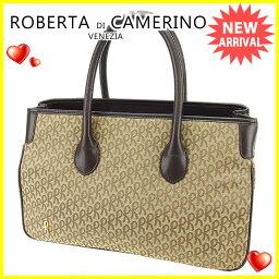 Roberta di Camerino【ロベルタ・ディ・カメリーノ】 その他 /キャンバス×レザー ユニセックス