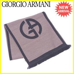 GIORGIO ARMANI【ジョルジオアルマーニ】 スカーフ /ウール100% レディース