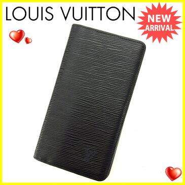 ルイヴィトン 長札入れ Louis Vuitton ノワール(ブラック) 【中古】 S371s .