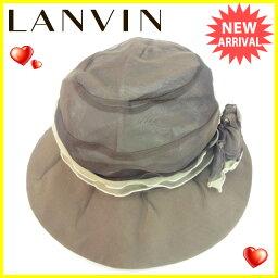 LANVIN【ランバン】 帽子  レディース