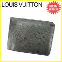 【お買い物マラソン】 【中古】 ルイヴィトン 二つ折り札入れ 二つ折り財布 Louis Vuitton アルドワーズ L944s .