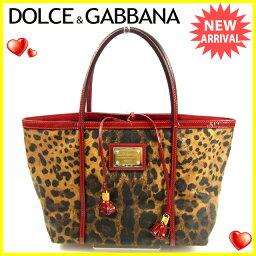 DOLCE&GABBANA【ドルチェアンドガッバーナ】 トートバッグ /PVC×エナメルレザー レディース