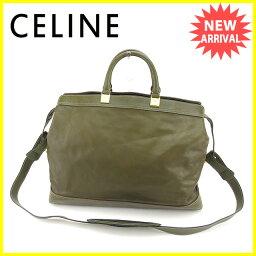 CELINE【セリーヌ】 ショルダーバッグ /レザー レディース
