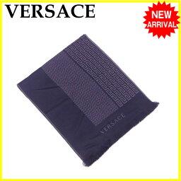 VERSACE【ヴェルサーチ】 スカーフ /ウール/100% レディース
