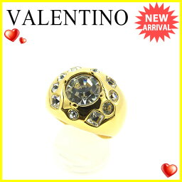 VALENTINO【ヴァレンティノ】 リング・指輪 /ストーン×ゴールド素 レディース