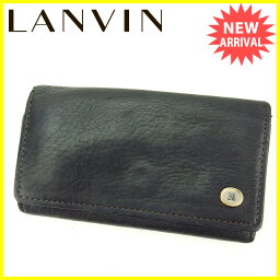LANVIN【ランバン】 キーホルダー /レザー ユニセックス