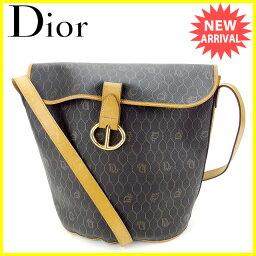 Dior【ディオール】 ショルダーバッグ /PVC×レザー レディース