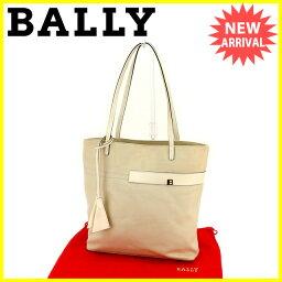 BALLY【バリー】 トートバッグ /キャンバス×レザー レディース