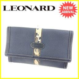 LEONARD【レオナール】 セカンドバッグ /PVC×レザー レディース
