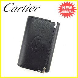 CARTIER【カルティエ】 キーホルダー /レザー nothing