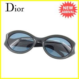 Dior【ディオール】 サングラス /プラスティック×ゴールド金具 男女兼用