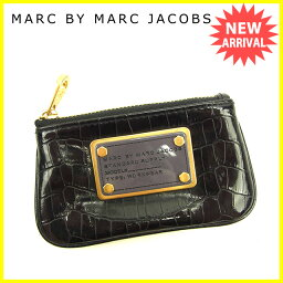 MARC JACOBS【マークジェイコブス】 コインケース /エナメルレザー レディース