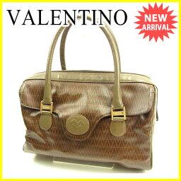 VALENTINO【ヴァレンティノ】 ボストンバッグ /PVC×レザー レディース
