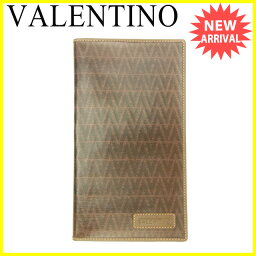 VALENTINO【ヴァレンティノ】 長財布(小銭入れあり) /PVC×レザー レディース