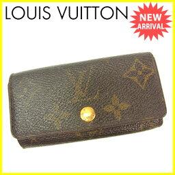 LOUIS VUITTON【ルイ・ヴィトン】 8011 キーホルダー /モノグラムキャンバス 男女兼用