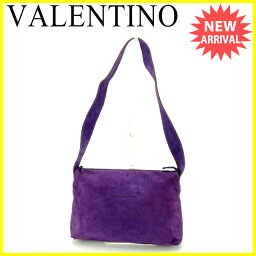 VALENTINO【ヴァレンティノ】 ショルダーバッグ /スエード×レザー レディース