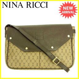 NINA RICCI【ニナリッチ】 ショルダーバッグ /PVC×レザー レディース