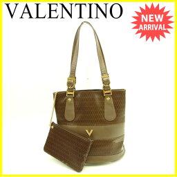 VALENTINO【ヴァレンティノ】 ショルダーバッグ /PVC×レザー レディース
