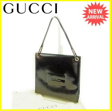 【中古】 グッチ Gucci ショルダーバッグ バック ワンショルダー ブラック レディース Y5881s .