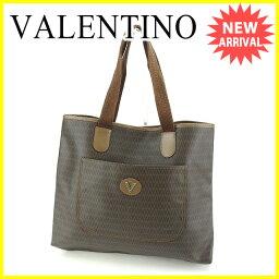 VALENTINO【ヴァレンティノ】 トートバッグ /PVC×レザー レディース