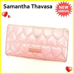Samantha Thavasa【サマンサタバサ】 長財布(小銭入れあり) /PVC レディース