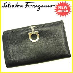 Salvatore Ferragamo【サルヴァトーレフェラガモ】 長財布(小銭入れあり)  レディース