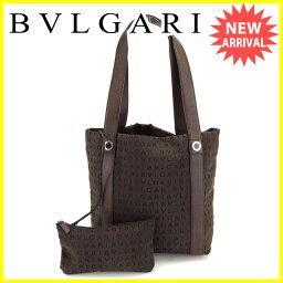 BVLGARI【ブルガリ】 トートバッグ  レディース