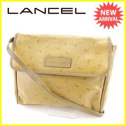LANCEL【ランセル】 ショルダーバッグ /PVC×レザー レディース