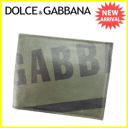DOLCE&GABBANA【ドルチェアンドガッバーナ】 二つ折り財布(小銭入れあり) /レザー メンズ