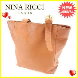 NINA RICCI【ニナリッチ】 トートバッグ /レザー レディース