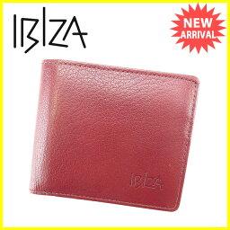 IBIZA【イビサ】 二つ折り財布(小銭入れあり) /レザー レディース