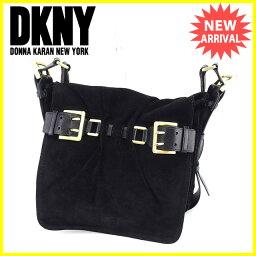 DKNY DONNA KARAN NEW YORK【ダナキャランニューヨーク】 ショルダーバッグ /スエード レディース