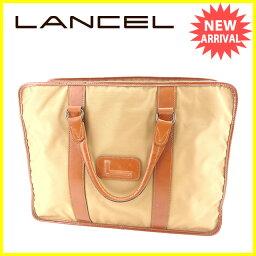 LANCEL【ランセル】 ビジネスバッグ /ナイロン×レザー レディース