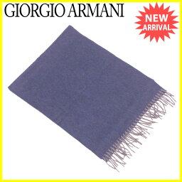 GIORGIO ARMANI【ジョルジオアルマーニ】 スカーフ /カシミアCashmere/100% レディース