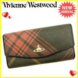 Vivienne Westwood【ヴィヴィアン・ウエストウッド】 長財布(小銭入れあり) /PVC×レザー レディース