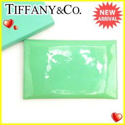 TIFFANY&Co.【ティファニー】 セカンドバッグ /エナメルレザー レディース